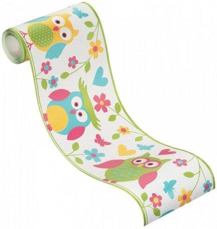 Pasek dekoracyjny Sowy 459203 KIDS & TEENS bord