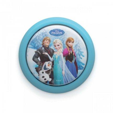Lampka Push Disney Frozen Kraina Lodu Philips LED NA BATERIE 1X0.03W 3V