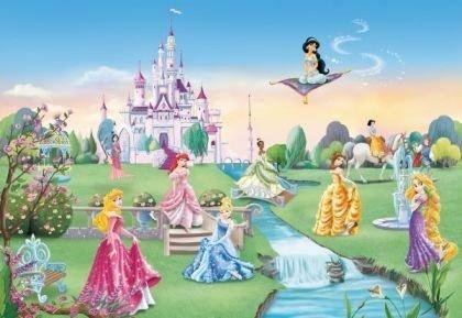 Fototapeta Disney Princess - Zamek Księżniczek