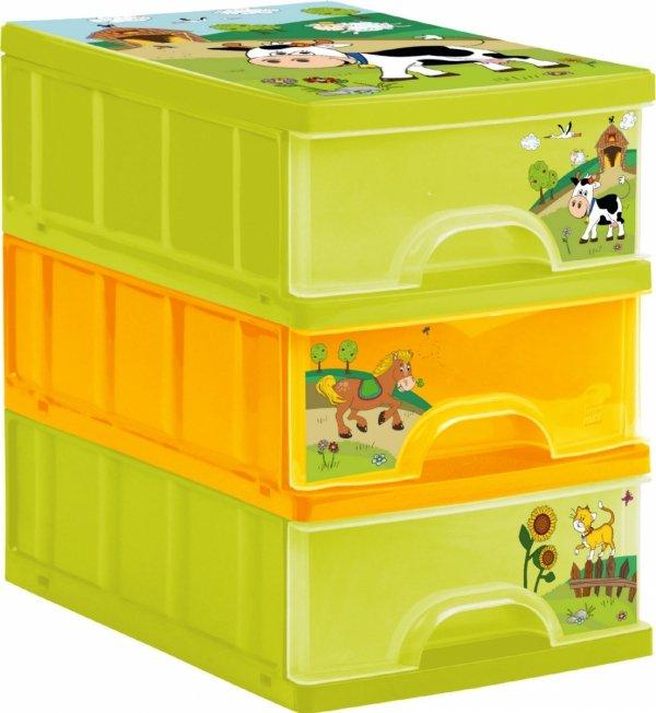Pojemnik z szufladami FARMA organizer
