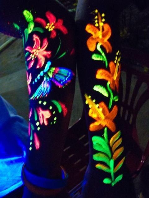 Farba do ciała i twarzy 13ml Neon UV