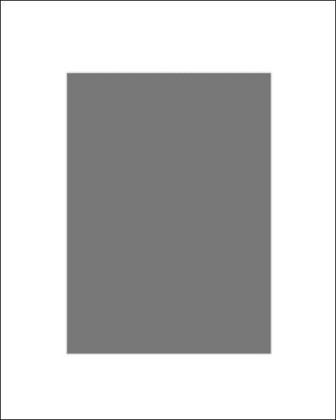 Passe-partout białe 42x59,4 cm