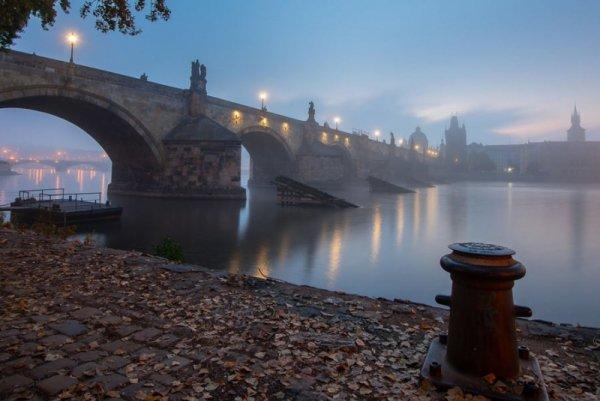Praga, Czechy - plakat premium