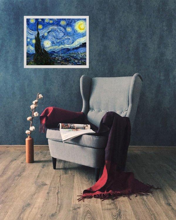 Gwiaździsta noc, Vincent van Gogh - plakat