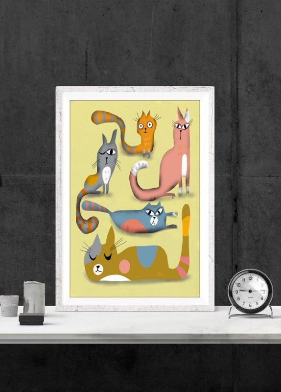 Koty - plakat