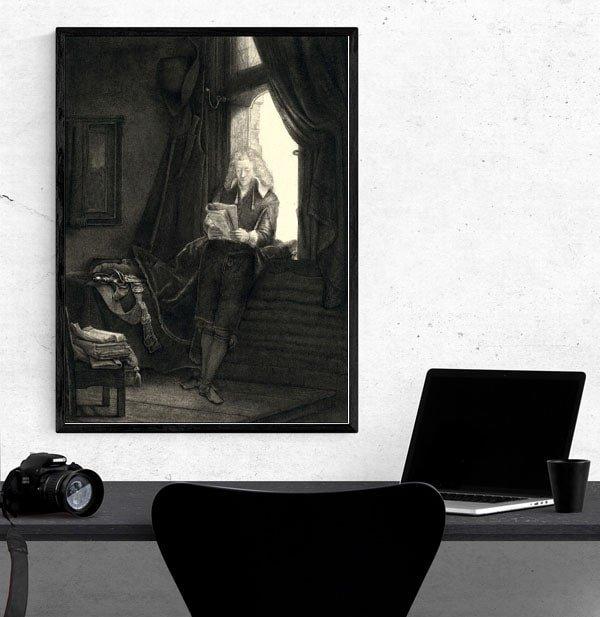 Jan Six, Rembrandt - plakat