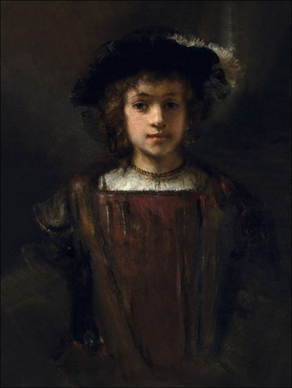 Rembrandt_s Son Titus (1641–1668), Rembrandt - plakat
