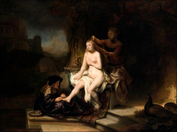 The Toilet of Bathsheba, Rembrandt - plakat