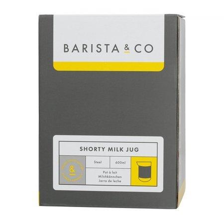 Barista & Co - Shorty Milk Jug Steel - Dzbanek do mleka 600 ml