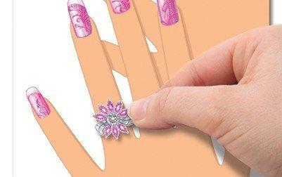 Szkicownik Manicure piękne dłonie