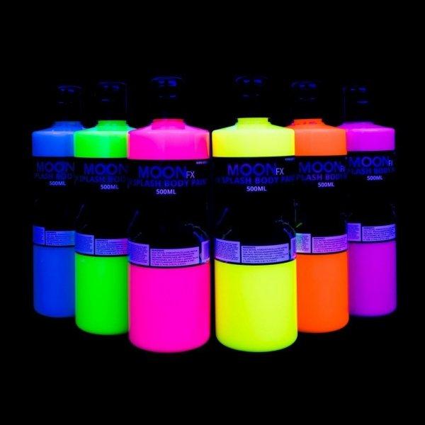 Farba do ciała 500ml Neon UV Splash Body Paint FX