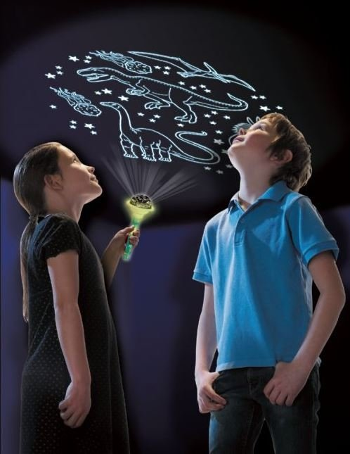 Latarka projektor z Dinozaurami - dinozaury