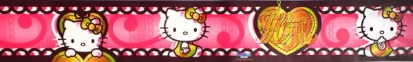 Border - Pasek dekoracyjny Hello Kitty