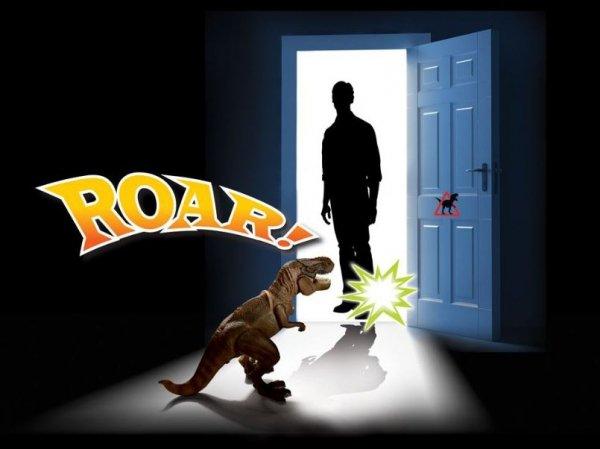Projektor slajdów DINOZAUR T-Rex Room Guard