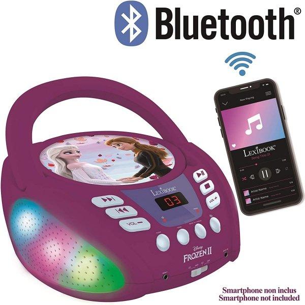 Boombox Kraina Lodu Disney Frozen odtwarzacz CD AUX MIC JACK