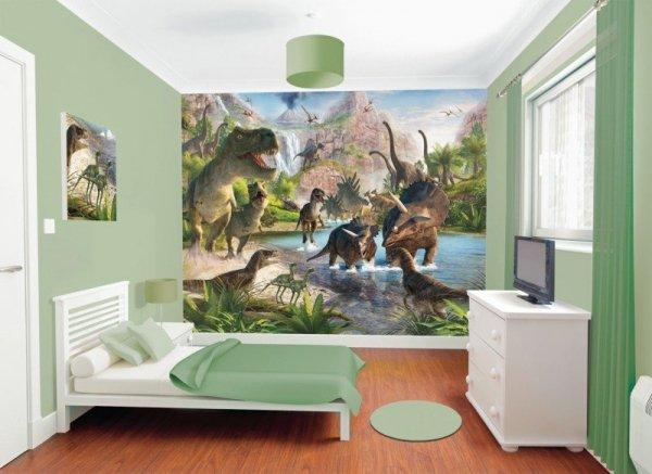 Tapeta 3D Dinozaury II