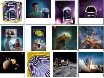 Domowe planetarium i projektor slajdów 2w1