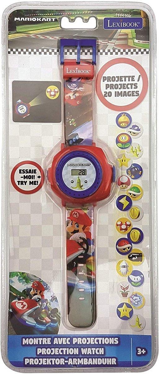 Zegarek z projektorem Super Mario