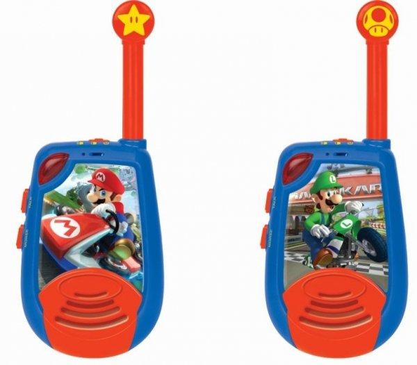 Walkie-talkie Super Mario krótkofalówka 2km