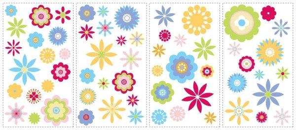 Naklejki Kwiatuszki