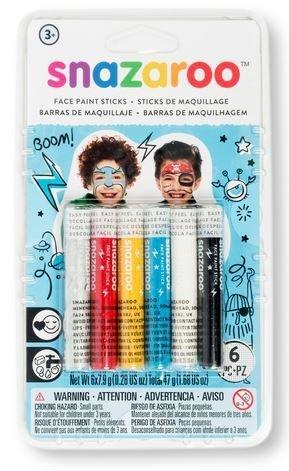 Kredki do twarzy - zestaw dla chłopców