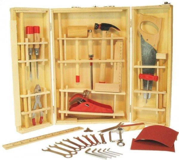 Duża skrzynka z narzędziami