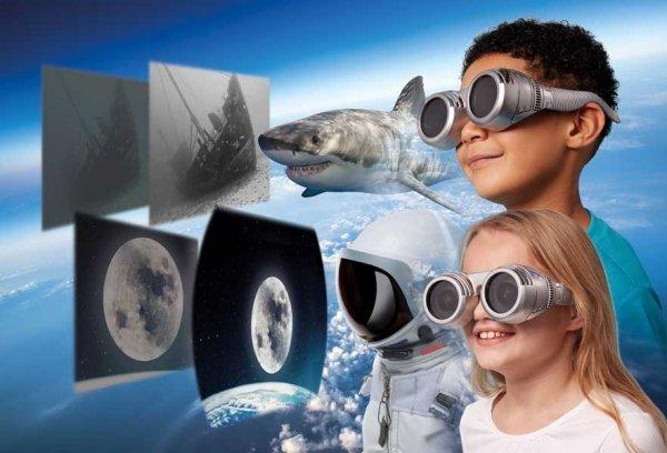 Okulary - zobacz świat oczami innych zwierząt