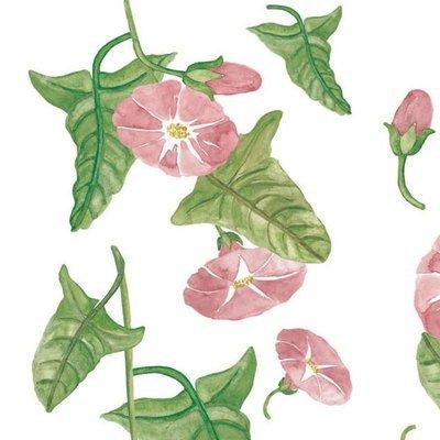 Naklejki kwiatki różowe