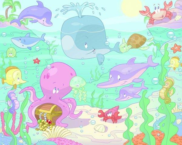 Tapeta Baby Sea