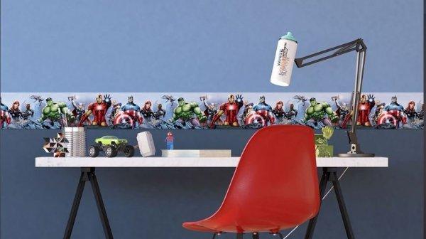 Border AVENGERS 10cm pasek dekoracyjny Marvel