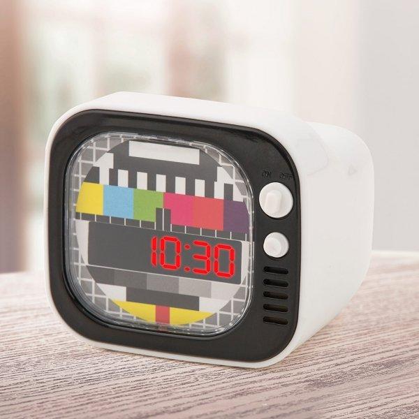 Budzik TV zegar Telewizor
