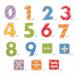Kolorowe Magnesy na lodówkę Cyferki - numery
