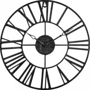 Zegar ścienny vintage czarny 36,5 cm