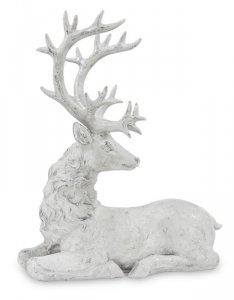 Piękna figurka leżący jeleń