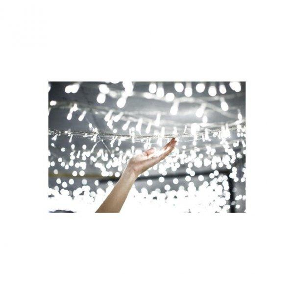 LAMPKI CHOINKOWE 200 LED KOLOR ZIMNY BIAŁY