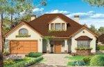 Projekt domu Zacisze pow.netto 233,93 m2
