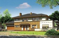 Projekt domu Verona pow.netto 215,28 m2