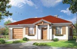 Projekt domu Urwis II pow.netto 84,07 m2