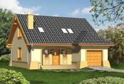 Projekt domu OMEGA