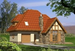 Projekt domu SKAŁA