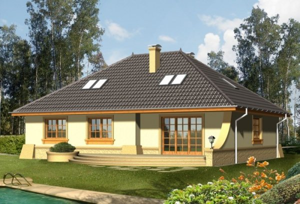 Projekt domu RETRO