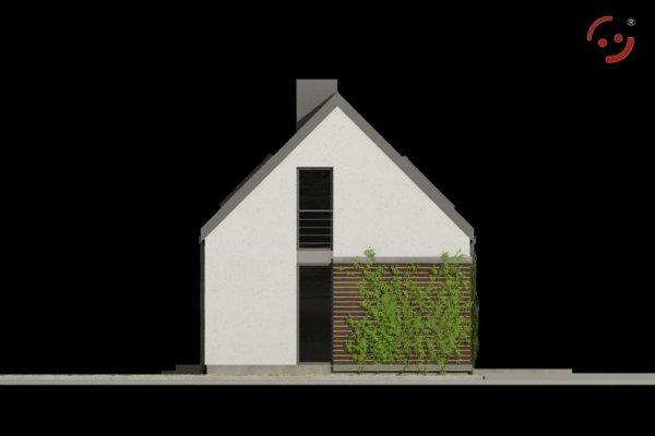 Projekt domu nowoczesnego OO5515 pow. 90,02 m2
