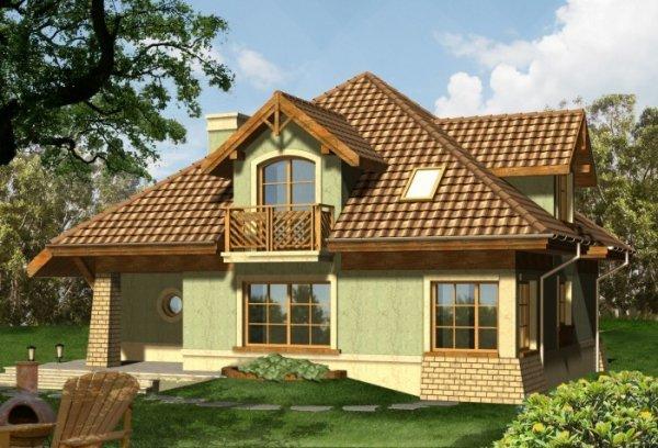 Projekt domu WIOSNA