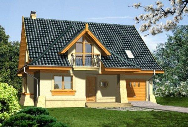 Projekt domu MOMENT o pow. 141,60 m2