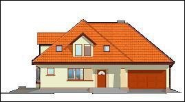 Projekt domu Agnieszka pow.netto 243,06 m2