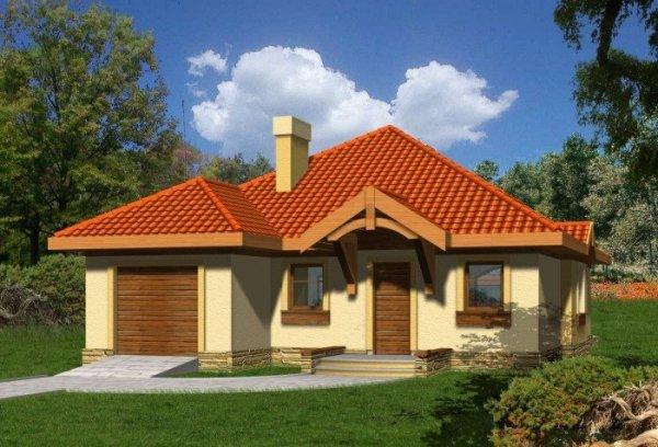 Projekt domu LAPIS