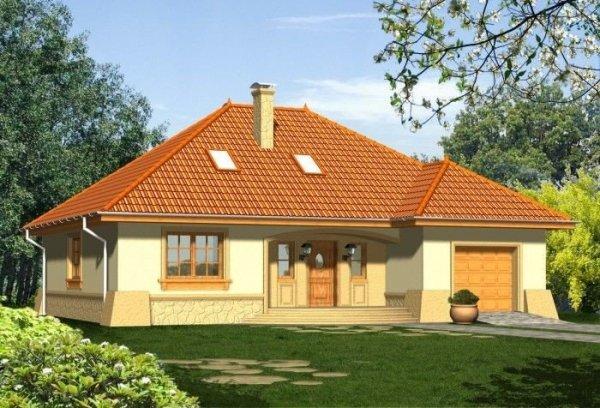 Projekt domu RETRO 2
