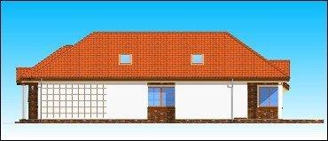 Projekt domu Jamnik pow.netto 111,33 m2