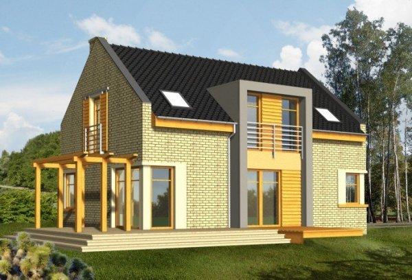 Projekt domu ALTER EGO