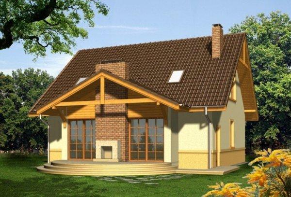 Projekt domu KONESER